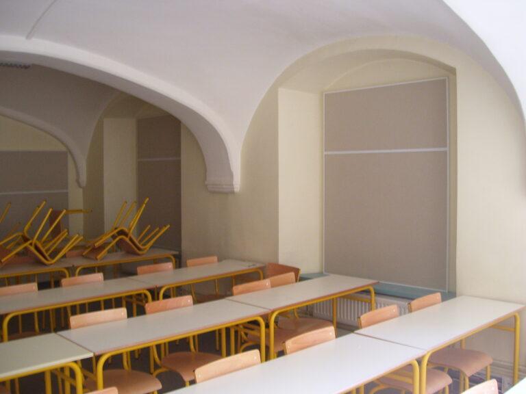 locaux d'enseignement
